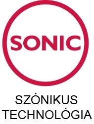 SONIC - szónikus technológia ikon
